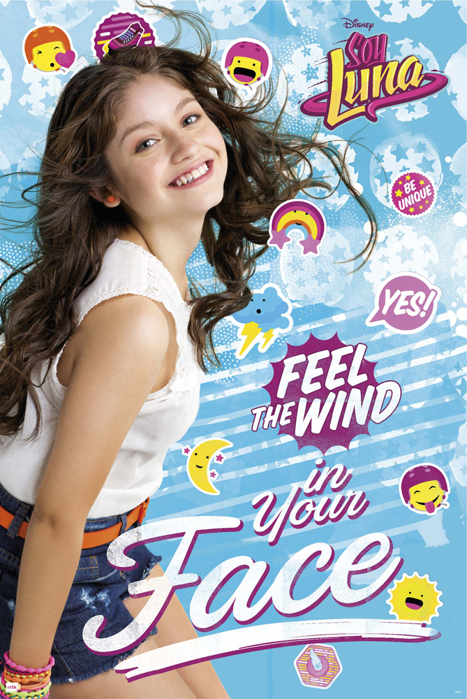 Soy Luna - Poster - Feel the wind