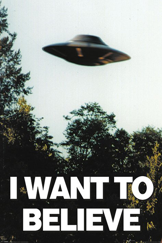 The X-files - Poster - I Want To Believe