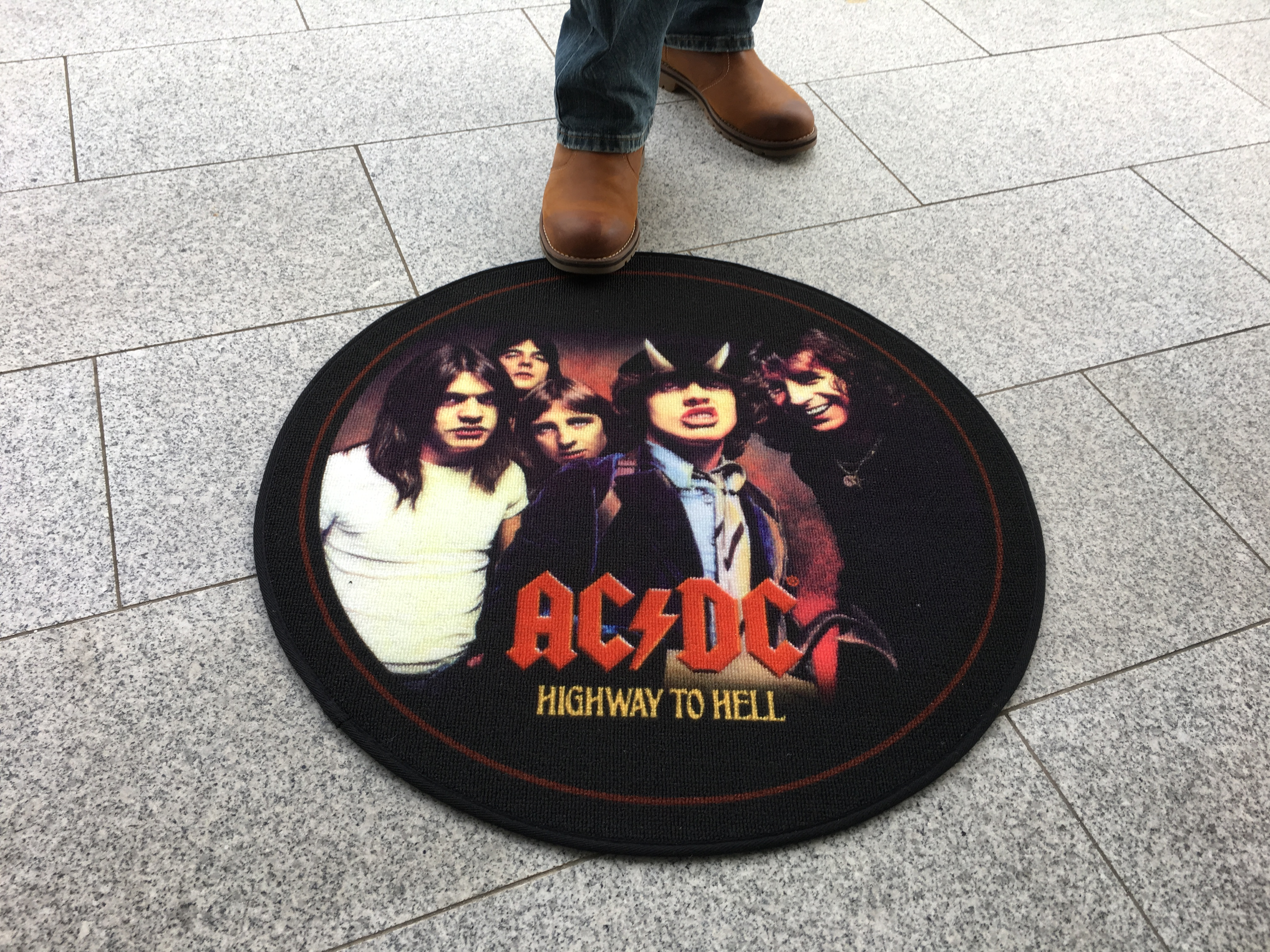 AC/DC - Ø 67 - Teppiche - Highway to Hell