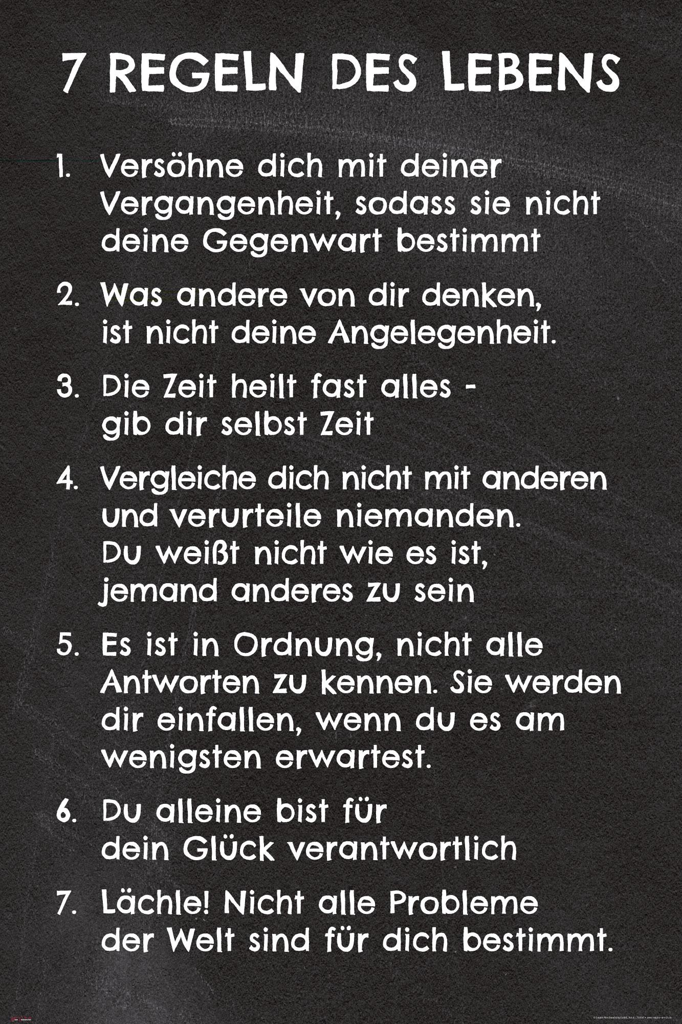 Regeln Des Lebens