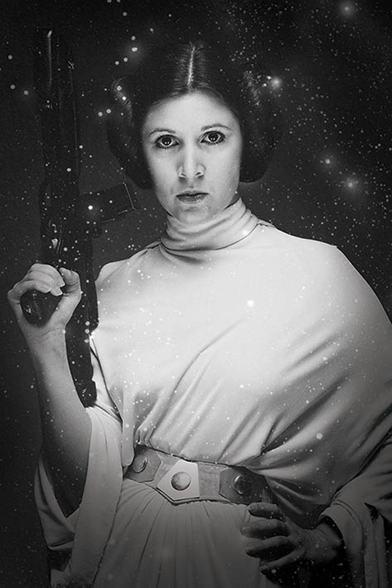 Star Wars - Poster - Princess Leia Stars
