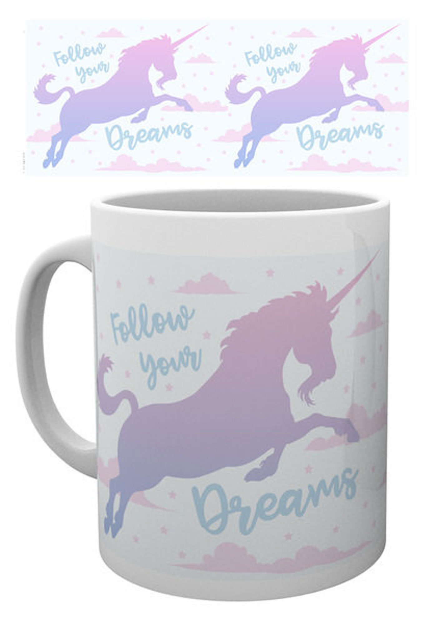 Unicorn - Lizenz Tassen - Follow Your Dreams