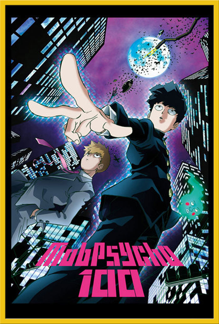 Poster Druck Größe 61x91,5 cm Mob Psycho 100 Filmposter Kino Movie City