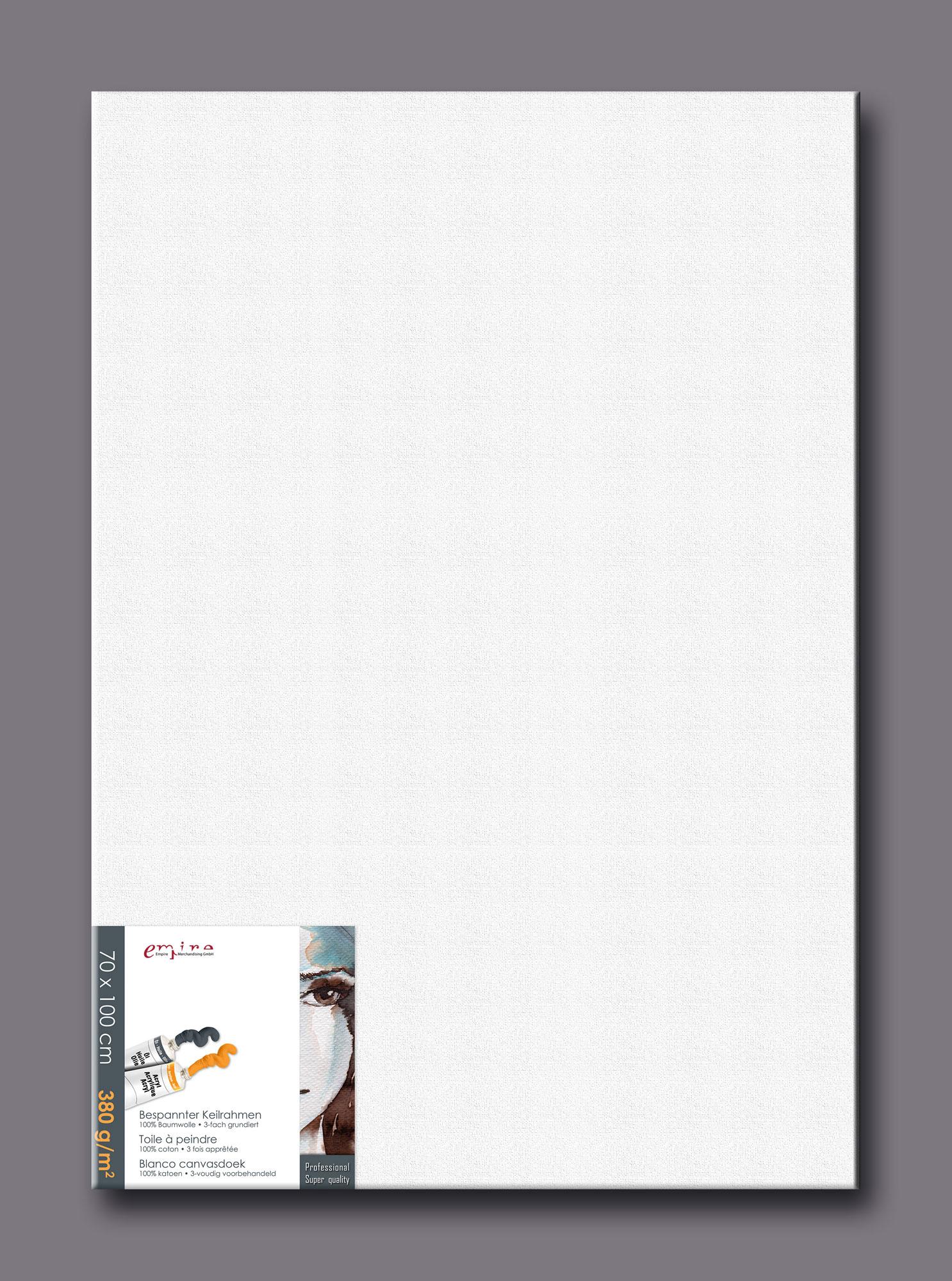 Künstlerbedarf - Keilrahmen 70x100 cm - Leinwand - 70x100