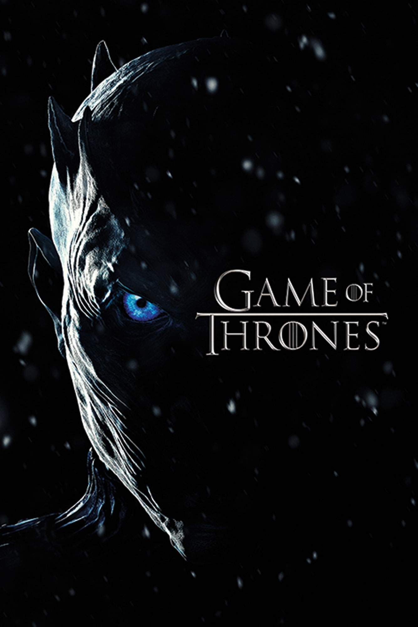 Game of Thrones - Poster - Season 7 - Night King