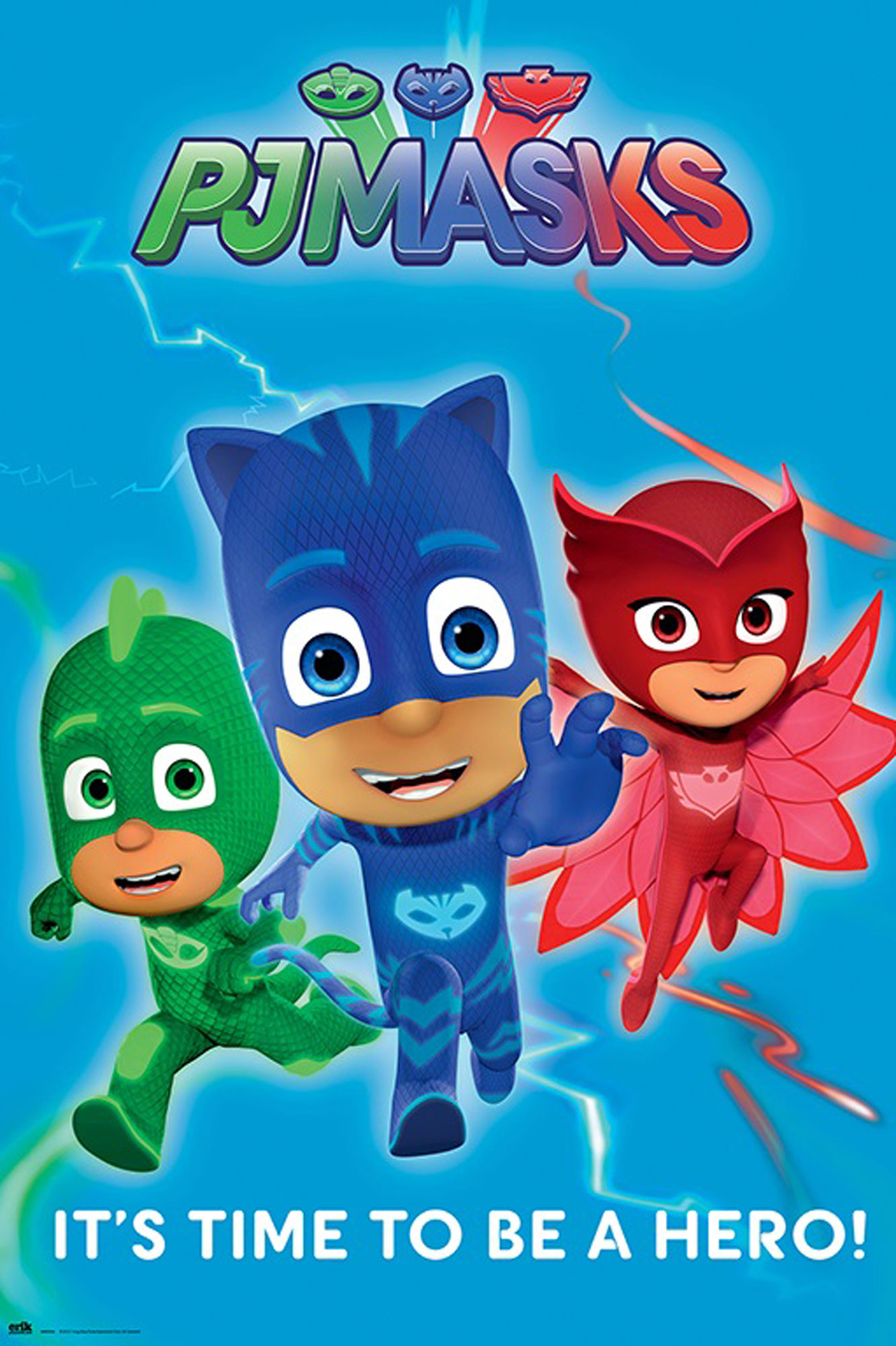 PJ Masks - Poster - Time to be a hero