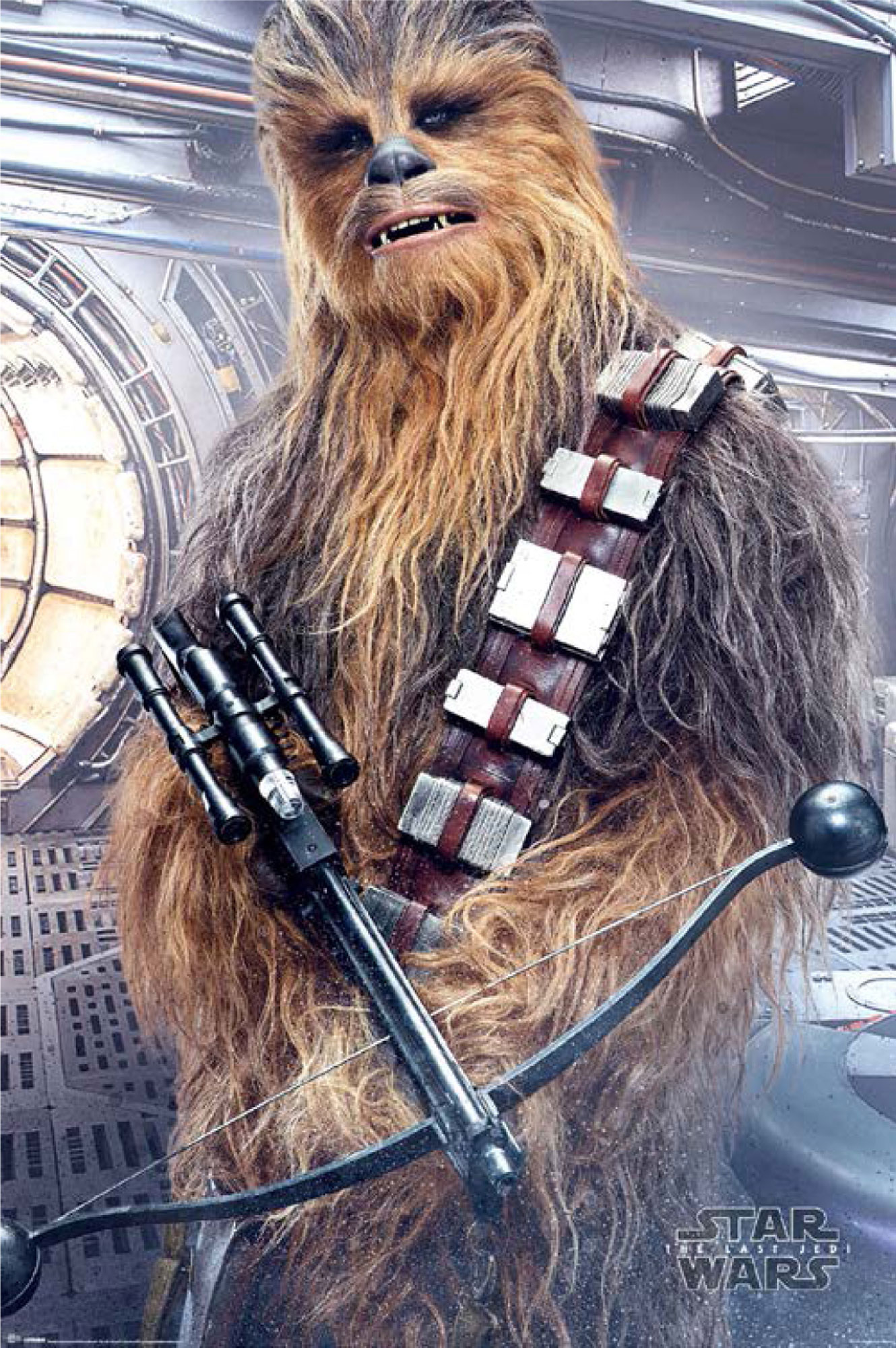 Star Wars - The Last Jedi  - Poster - Chewbacca Bowcaster