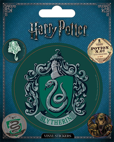 Harry Potter  - Sticker-Sets - Slytherin
