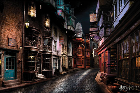 Harry Potter - Poster - Diagon Alley