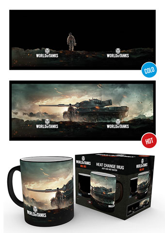 World of Tanks - Heat-Changing Mugs - Action