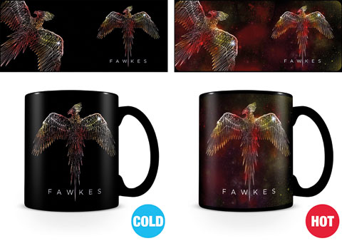 Harry Potter - Heat-Changing Mugs - Fawkes
