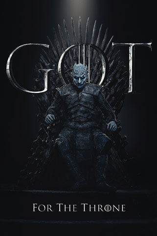Game of Thrones - Poster - Staffel 8 - Night King, The Final Season