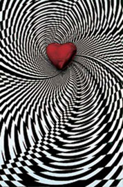 Optical Illusion Heart, Op-Art