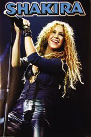 Poster - Shakira Stage