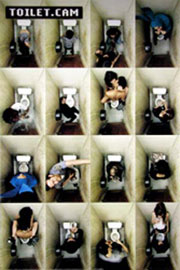 Poster - Toilet Cam