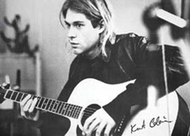Poster - Cobain, Kurt Guitar Version 2