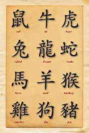 Poster - Chinese Writing