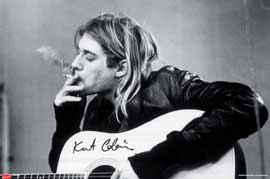 Poster - Cobain, Kurt Smoking