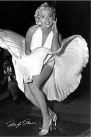 Monroe, Marilyn Seven Year Itch B/W