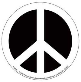 Poster - CND Symbol peace