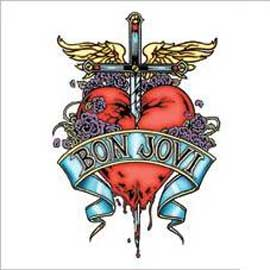 Bon Jovi Heart and Dagger