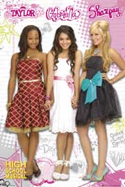 Poster - High School Musical Girls
