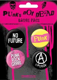 Poster - Punks not Dead UK Punk