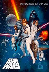 Star Wars Episode 4 One Sheet 3D Poster