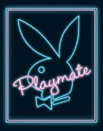 Poster - Playboy Neon Bunny Version 2