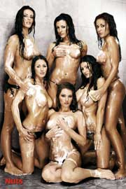 Poster - Girls NUTS - Shower
