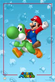Poster - Nintendo Super Mario Riding