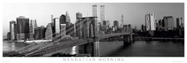 Poster - New York Manhattan Morning