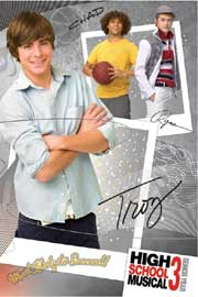 High School Musical 3- Troy Combo