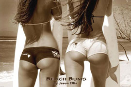 Poster - Beach Bums By Jason Ellis