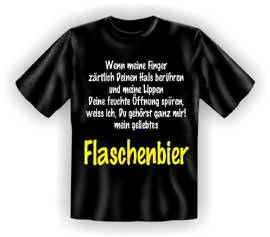 bier flaschenbier wenn mein t shirt textilien xxl. Black Bedroom Furniture Sets. Home Design Ideas