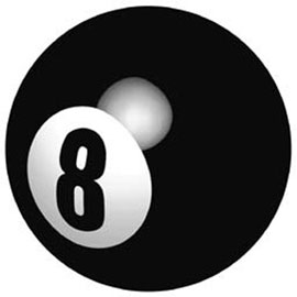 Symbols Eight Ball