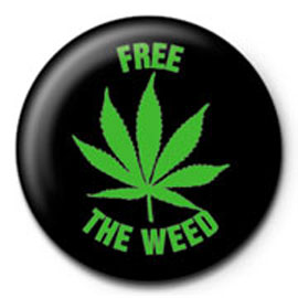 Poster - Cannabis Free The Weed BT 130