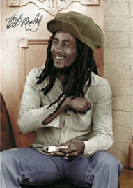 Poster - Marley, Bob Rolling