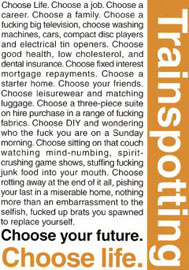 Poster - Trainspotting