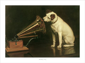 Poster - Barraud, Francis His Master's Voice