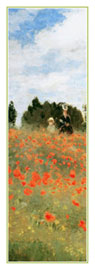 Poster - Monet, Claude Field of Poppies