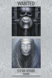 Poster - Giger, H. R. Wanted, Elp