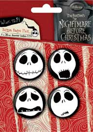 Nightmare Before Christmas Heads