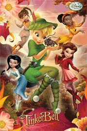 Poster - Disney Feen - Fairies