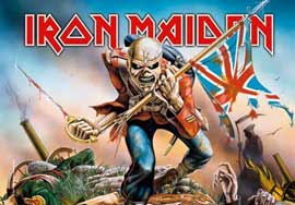 Poster - Iron Maiden Trooper