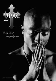 Poster - 2Pac Only God can judge me