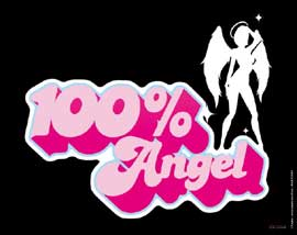 100% Angel Mousepad 1