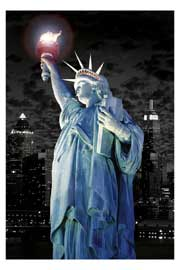 Poster - New York Statue of Liberty New York torche