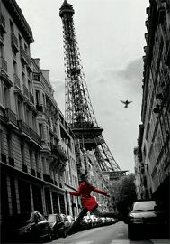 Paris Red Coat