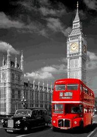 London Red Bus Big Ben